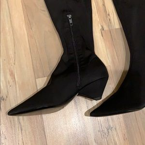 """Ash Shoes - Ash """"Cara"""" Thigh High Leather Lining/Sole Boots"""